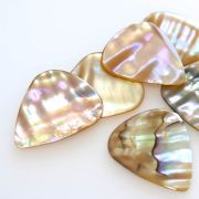 Abalone Tones - Awabi - 1 Guitar Pick | Timber Tones